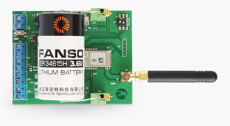 Внутренняя устройство модема «СТРИЖ» для учета электроэнергии
