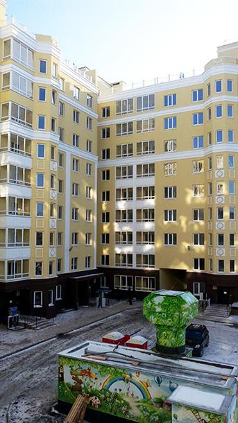 Многоквартирный дом в ЖК «Солнечный город»
