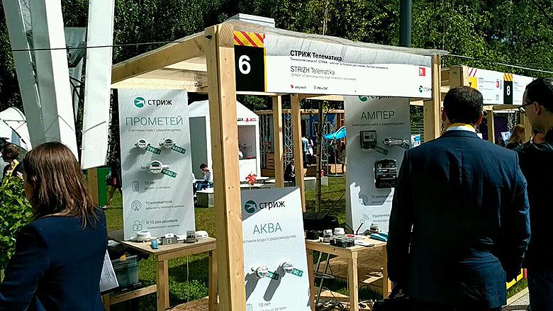 LPWAN-технологии «СТРИЖ» в Сколково