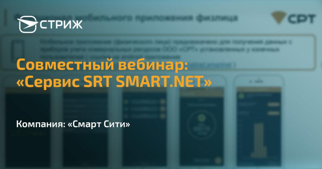 Сервис SRT SMART.NET СТРИЖ СРТ