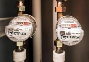 Электронные водосчетчики СВК 15-3-2 с радиомодемом «СТРИЖ»