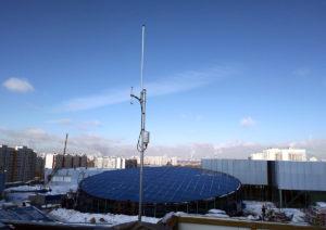 Фотография установленной базовой станции СТРИЖ