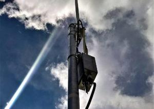 Изображение установленного шлюза LPWAN
