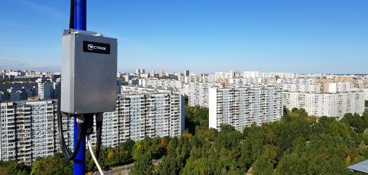Базовая станция «СТРИЖ» установленная, фото