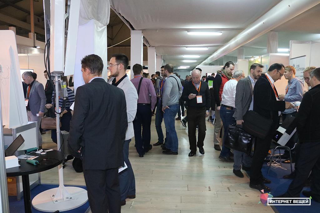 Выставочная зона конференции «Интернет вещей-2017»