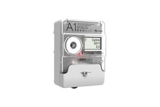 Электросчетчик «А1М» с радиомодемом «СТРИЖ» ракурс под углом