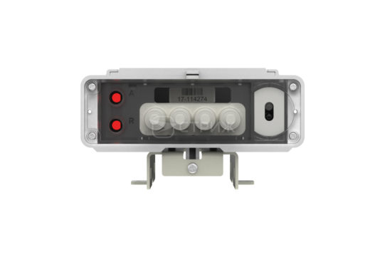 Электросчетчик с дистанционным снятием показаний на столбе A1 Split ракурс спереди