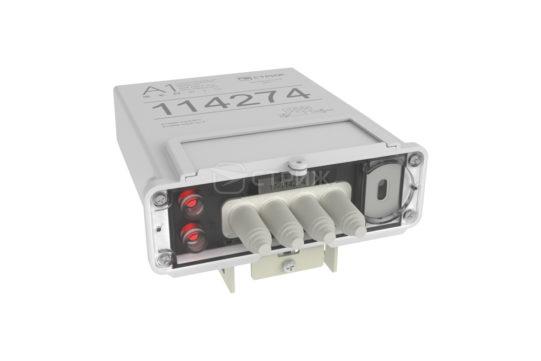 Электросчетчик с дистанционным снятием показаний на столбе A1 Split ракурс под углом сверху
