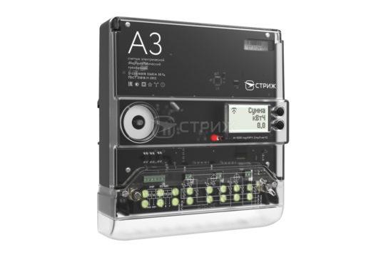 Счетчик электроэнергии трехфазный «A3» с дистанционным снятием показаний ракурс под углом