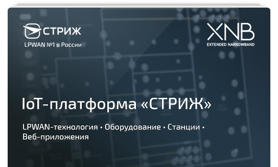 Презентация IoT-платформы «СТРИЖ»